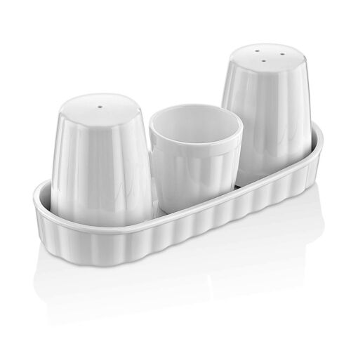 TemoWare Polycarbonate Salt and Pepper Shakers Unbreakable