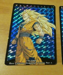 DRAGON-BALL-Z-DBZ-HERO-COLLECTION-PART-3-CARD-RARE-PRISM-CARTE-324-NM
