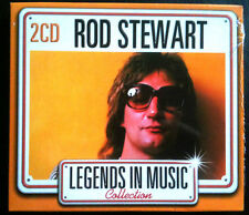 LEGENDS IN MUSIC COLLECTION - ROD STEWART - 2 CD NEUF -