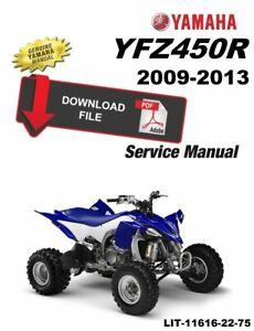 free wiring schematic 2005 yfz yamaha 2011 yfz450r service manual ebay  yamaha 2011 yfz450r service manual ebay