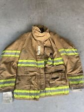 Firefighter Globe Turnout Bunker Coat 42x32 Gx 7 2000 No Cut Out
