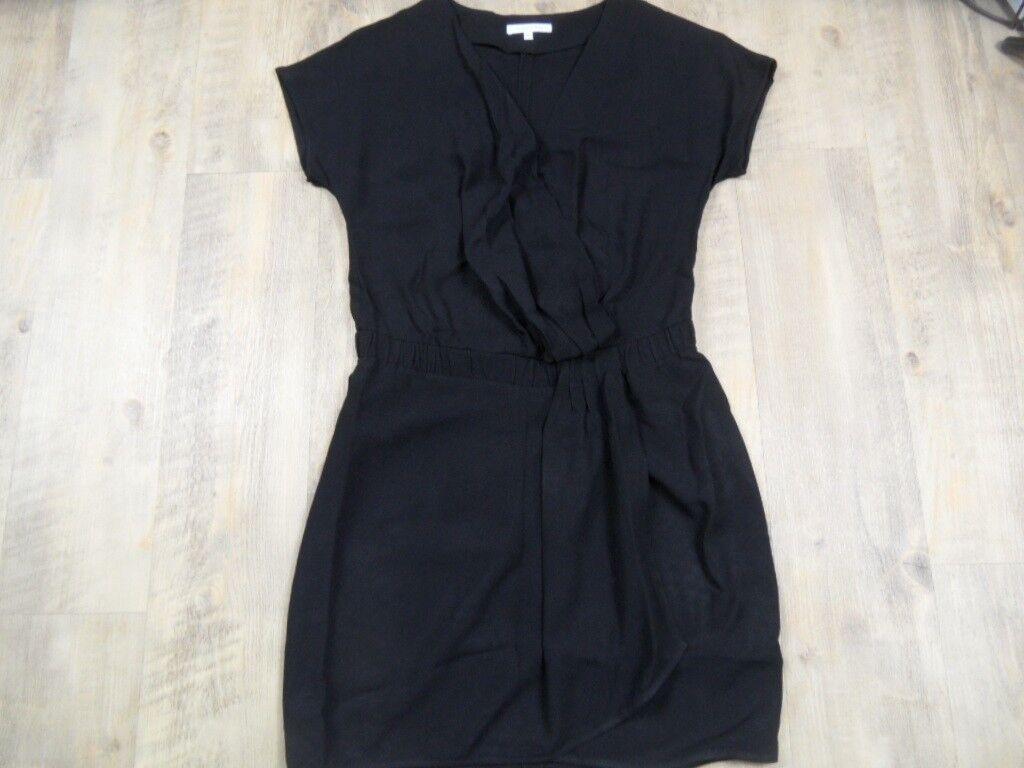 PATRIZIA PEPE Choices Mini-robe à langer Simili Noir Taille It. 40 kos1217