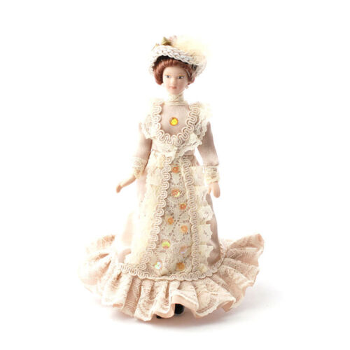 "Dolls House 4704 muñeca /""Constance/"" 15 cm 1:12 para casa de muñecas nuevo #"