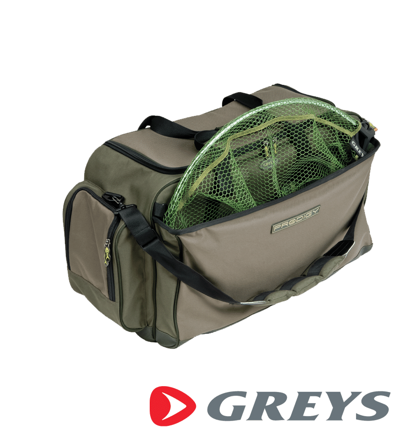 graus Prodigy Carryall and Net Bag Angelzubehör Tasche mit Kescher Tasche