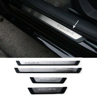 Car Stainless Steel Scuff Plate For Ford Kuga 2013-2017 Door Sill Protector
