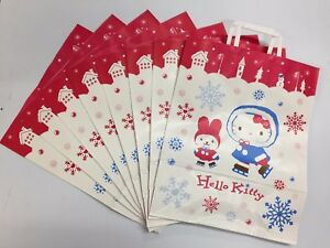 564c33d9256 Image is loading Sanrio-Hello-Kitty-Holiday-8pc-Paper-Gift-Shopping-