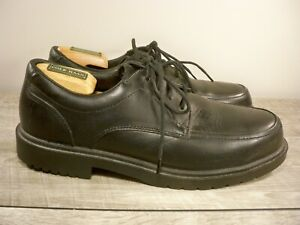 Red-Wing-6612-Rio-Grande-Black-Leather-Oxford-Derby-Lace-Up-Steel-Toe-Shoes-10-D