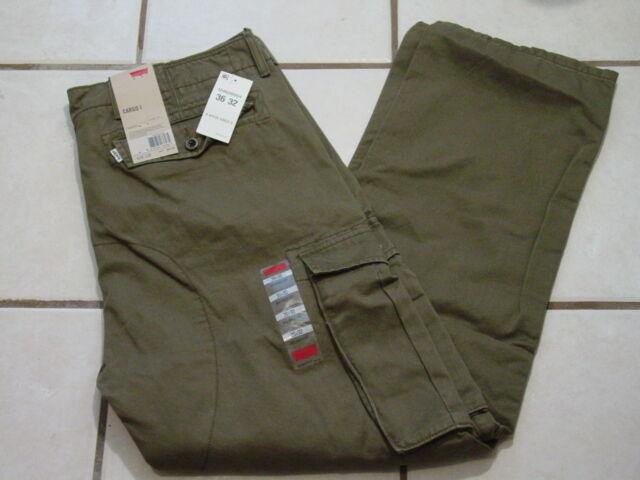 New Levi's Men Twill Cargo Pants 36x30  36x34  38x30  38x32