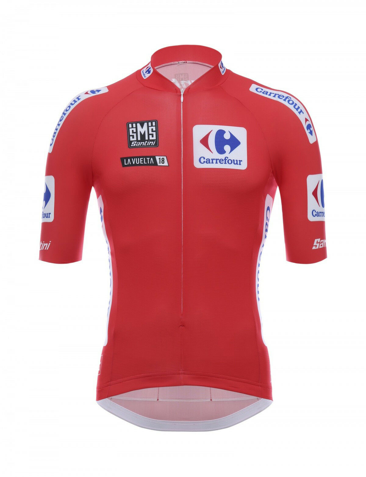 2018 La Vuelta rot Leaders Cycling Jersey Made in  by Santini