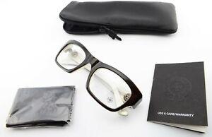CHROME HEARTS Brille BLUE BALLZ CCP 51[]22 135 Brown Eyeglasses Lily Japan +Case