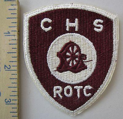 ORIGINAL Vintage DALEVILLE ROTC SCHOOL SHOULDER PATCH INSIGNIA