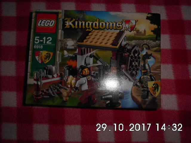 LEGO Kingdoms Hinterhalt in der Schmiede (6918), NEU, OVP, PayPal