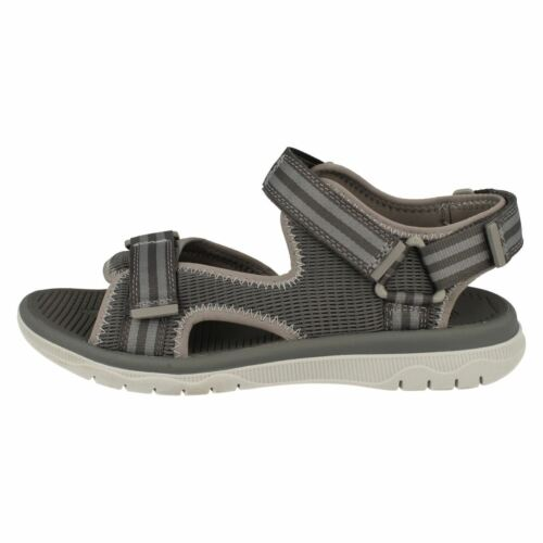 Balta Sky Homme Clarks Riptape Casual Bout Ouvert Plage Chaussures Attaché Sandales Taille