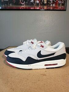 2018 sneakers buy cheap wide varieties Details about 2013 Nike Air Max 1 OG Obsidian SZ 12 554717 100