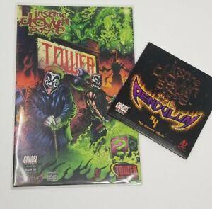 Insane Clown Posse  - The Pendulum 4 Comic Book & CD set Tower Records Cover ICP