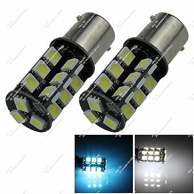 2X 1156 1141 27 SMD 5050 LED Turn Signal Light Lamp Canbus Error Free Car ZD008