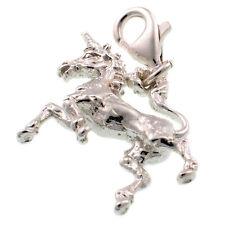 Sterling 925 British unicorno d'argento Ciondolo Aragosta bonifico bancario o postale su fit da saldare Bliss