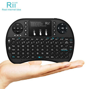 Spanish i8 Air Mouse Wireless Backlight Keyboard with Touchpad for Android TV Box /& Smart TV /& PC Tablet /& Xbox360 /& PS3 /& HTPC//IPTV GuiPing Support Language