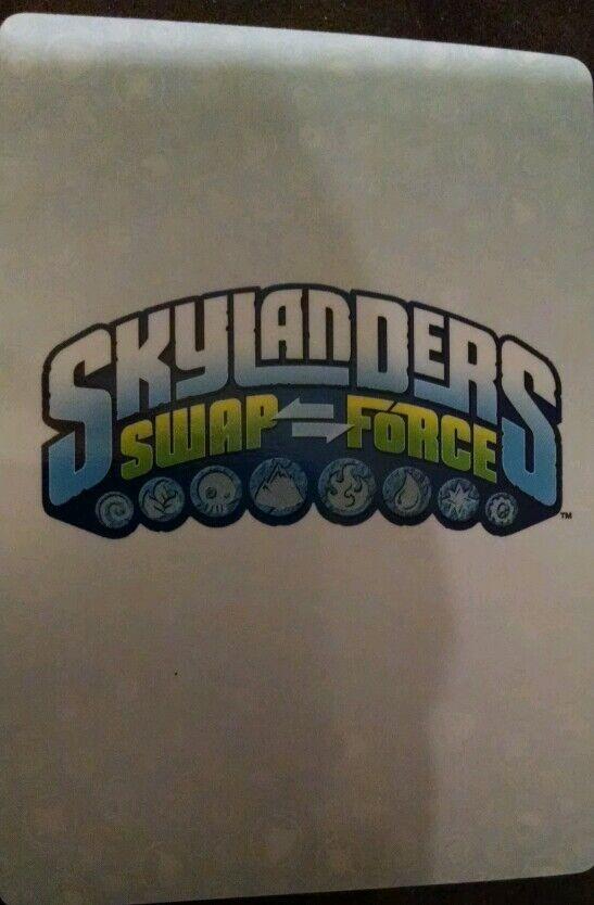 Dark Mega Ram Spyro Spyro Spyro Skylanders Swap Force Stat Card Only  f15a13