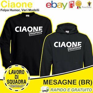 Sweatshirt Cc Own Humor Cute Funny Humoristica Gift Idea Italy