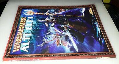 Brillante Alti Elfi, Gli Eserciti Di Warhammer, Supplemento, Games Workshop 2003.