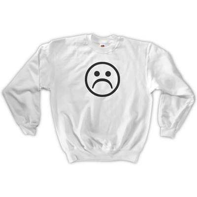 You Decide Smile or Sad Face Swag Hoodie Sweatshirt Jumper Men Women Unisex 1685