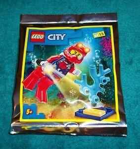 LEGO CITY: Deep Sea Diver Polybag Set 952012 BNSIP
