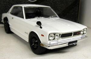 Triple9-1-18-Scale-Nissan-Skyline-GT-R-KPGC10-White-Diecast-model-car