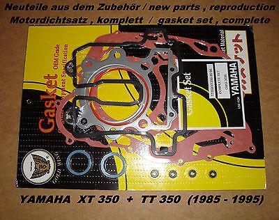 Yamaha XT 350_+_TT 350_Motordichtsatz_Dichtsatz_gasket set_pochette de joint