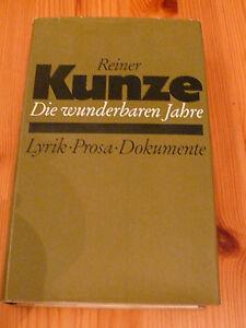 Karl Corino: Reiner Kunze - Die wunderbaren Jahre, gut erhalten, gebraucht - Düsseldorf, Deutschland - Karl Corino: Reiner Kunze - Die wunderbaren Jahre, gut erhalten, gebraucht - Düsseldorf, Deutschland