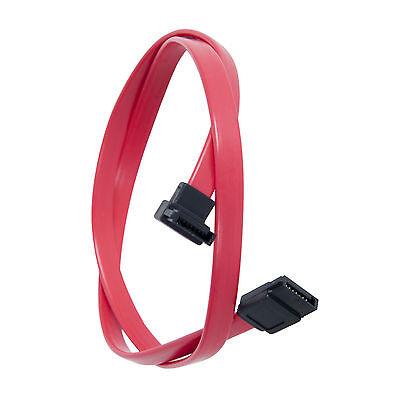 RED SERIAL ATA (SATA III) CABLE FOR HARDDRIVES, SSD, CD, DVD/RW & BLU-RAY DRIVES