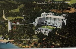 Image Is Loading Postcard Castle Harbour Hotel Tuckers Town Bermuda