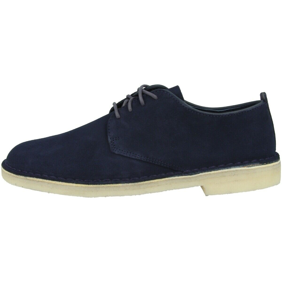 Clarks Desert londres zapatos Men zapato bajo ejecutivo con cordones Midnight 26122624