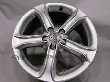 "Original Audi A4 17"" Alloy wheel alloys x1 2014 7.5Jx17H2 ET45 8K0601025 BK #16"