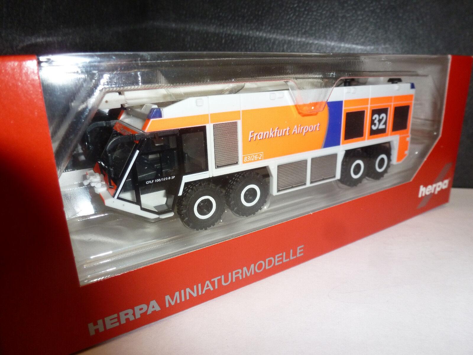 Herpa, 093019 Ziegler z8 XXL flugfeldlöschfahrzeug
