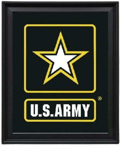 US Army Logo Picture Frame 8x10
