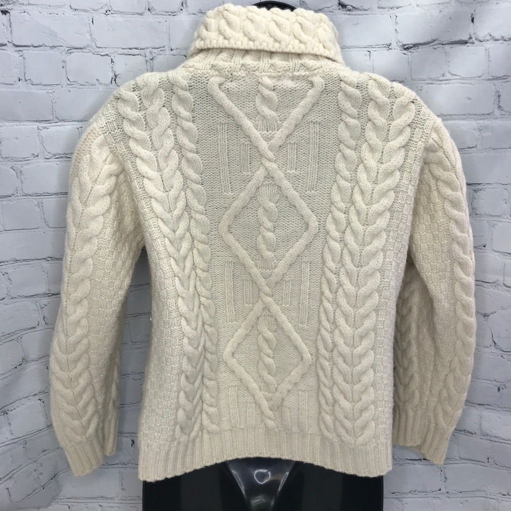 Inis Crafts Womens Pullover Sweater White 100% Wo… - image 2