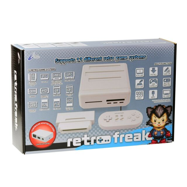 Cyber Gadget Retro Freak 12 in 1 Retro Classic Games Console - Premium Edition