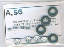 RUOTE 1/43 RUOTE ALFA ROMEO 1960  TRON  A056