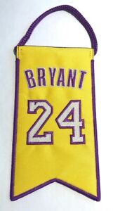 Details about ???????? Kobe Bryant Los Angeles Lakers Jersey Retirement Mini Banner Pennant #24 ????