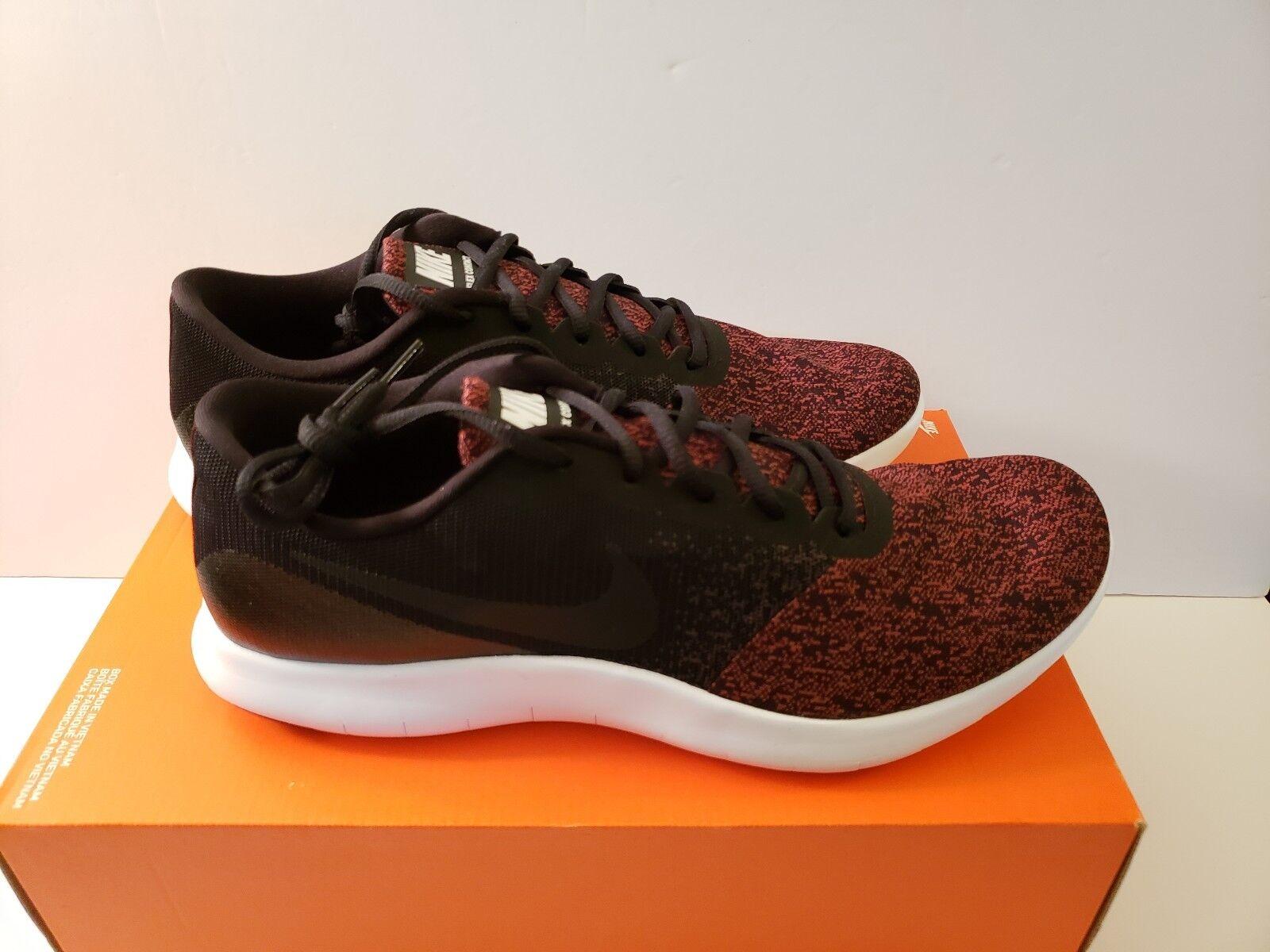 Nike Flex Contact Size 12 & 13 Black Black-Dark Team Red (908983 013)