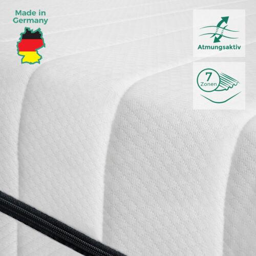 Premium orthopédiques 7 Zones Matelas 100x200 matelas