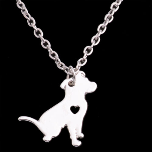 Gold Silver Plated Bull Terrier Dachshund Chihuahua Collie Dog Pet Necklace Gift