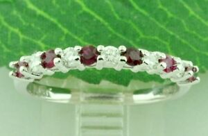 0-60-ct-14k-Solid-White-Gold-Ladies-Natural-Ruby-amp-Diamond-Ring-Band-made-USA