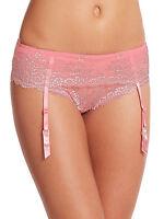 Wacoal Women's Embrace Lace Garter Belt Pink Size M/l Ld615