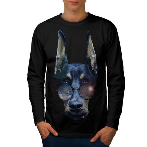 Cool Dog Doberman Animal Men Long Sleeve T-shirt NEWWellcoda