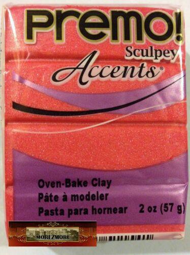 M00252 MOREZMORE Premo Accents Sculpey SUNSET PEARL 2oz Sculpting Clay A60
