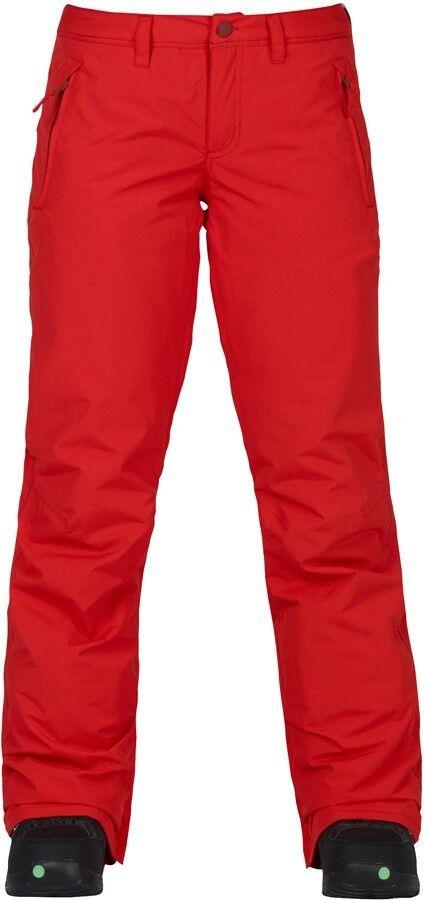 BURTON Women's SOCIETY  Snow Pants - Firey Red - Large - NWT  100% brand new with original quality