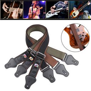 Correa-Bandolera-de-Guitarra-Electrica-Ajustable-para-Guitarra-Acustica-Bajo-Accesorios