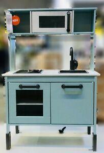 Ikea Duktig Cuisine Jouets Turquoise Clair Pour Enfants Four Evier